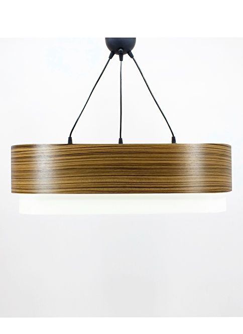Crea Lighting Doubleshade Salon Sarkıt 70cm-3 Ampul Renksiz